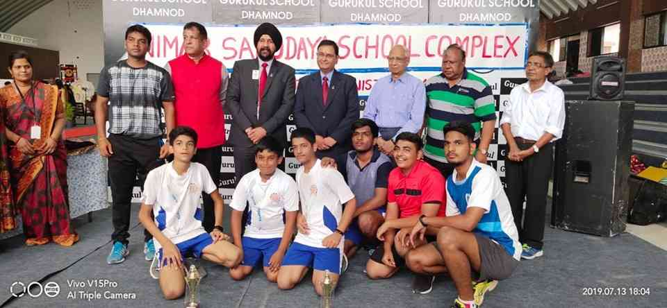 NSSC Table Tennis competition-2nd position