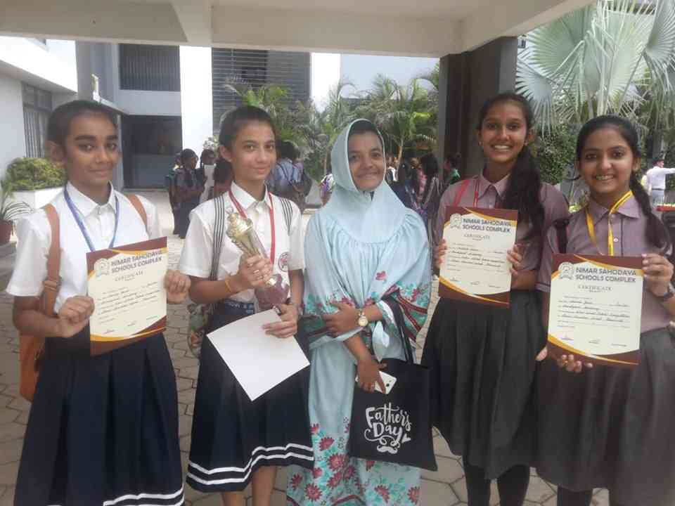 English Debate Competition-1st position