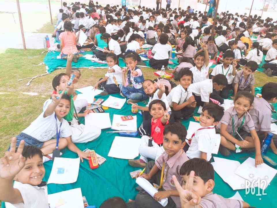 NAVNEET MASTER STROKE DRAWING COMPETITION