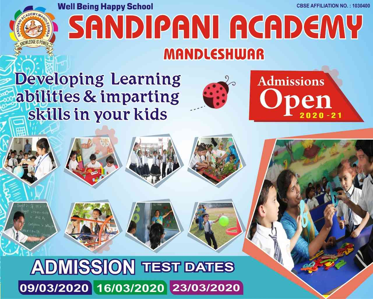 ADMISSIONS OPEN SESSION 2020-21